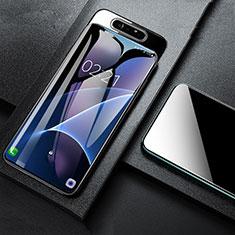 Samsung Galaxy A80用強化ガラス 液晶保護フィルム T01 サムスン クリア
