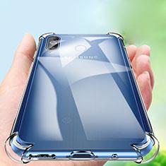 Samsung Galaxy A8s SM-G8870用極薄ソフトケース シリコンケース 耐衝撃 全面保護 クリア透明 カバー サムスン クリア