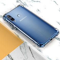 Samsung Galaxy A8s SM-G8870用極薄ソフトケース シリコンケース 耐衝撃 全面保護 クリア透明 T02 サムスン クリア