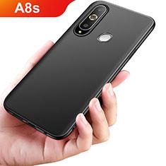 Samsung Galaxy A8s SM-G8870用極薄ソフトケース シリコンケース 耐衝撃 全面保護 S02 サムスン ブラック