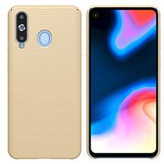 Samsung Galaxy A8s SM-G8870用ハードケース プラスチック 質感もマット M01 サムスン ゴールド
