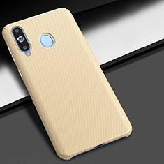 Samsung Galaxy A8s SM-G8870用ハードケース プラスチック 質感もマット M02 サムスン ゴールド