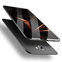 Samsung Galaxy A9 (2016) A9000用ハードケース プラスチック 質感もマット M03 サムスン ブラック