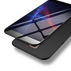 Samsung Galaxy A9 (2016) A9000用ハードケース プラスチック 質感もマット M04 サムスン ブラック