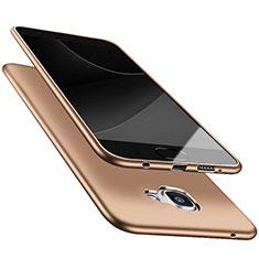 Samsung Galaxy A9 (2016) A9000用極薄ソフトケース シリコンケース 耐衝撃 全面保護 S05 サムスン ゴールド