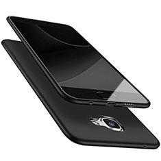 Samsung Galaxy A9 (2016) A9000用極薄ソフトケース シリコンケース 耐衝撃 全面保護 S05 サムスン ブラック