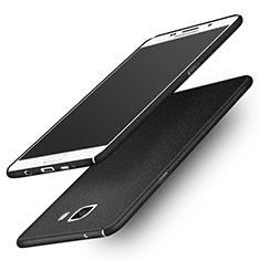 Samsung Galaxy A9 (2016) A9000用ハードケース カバー プラスチック サムスン ブラック