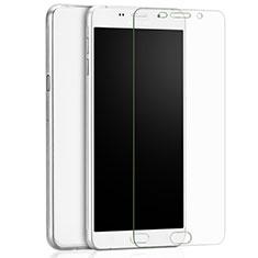 Samsung Galaxy A9 (2016) A9000用強化ガラス 液晶保護フィルム T02 サムスン クリア