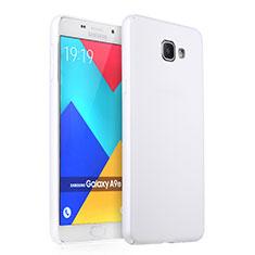 Samsung Galaxy A9 Pro (2016) SM-A9100用ハードケース プラスチック 質感もマット サムスン ホワイト