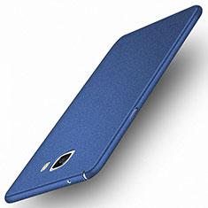 Samsung Galaxy A9 Pro (2016) SM-A9100用ハードケース プラスチック 質感もマット M01 サムスン ネイビー