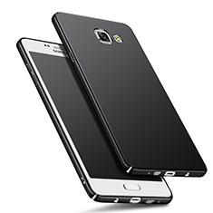 Samsung Galaxy A9 Pro (2016) SM-A9100用ハードケース プラスチック 質感もマット M01 サムスン ブラック