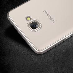 Samsung Galaxy A9 Pro (2016) SM-A9100用極薄ソフトケース シリコンケース 耐衝撃 全面保護 クリア透明 T03 サムスン クリア