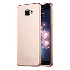 Samsung Galaxy A9 Pro (2016) SM-A9100用極薄ソフトケース シリコンケース 耐衝撃 全面保護 サムスン ゴールド