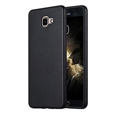 Samsung Galaxy A9 Pro (2016) SM-A9100用極薄ソフトケース シリコンケース 耐衝撃 全面保護 サムスン ブラック