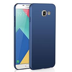 Samsung Galaxy A9 Pro (2016) SM-A9100用ハードケース プラスチック 質感もマット M02 サムスン ネイビー