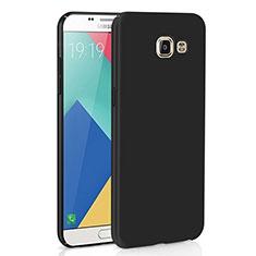 Samsung Galaxy A9 Pro (2016) SM-A9100用ハードケース プラスチック 質感もマット M02 サムスン ブラック