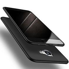 Samsung Galaxy A9 Pro (2016) SM-A9100用極薄ソフトケース シリコンケース 耐衝撃 全面保護 S03 サムスン ブラック