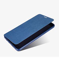Samsung Galaxy A9 Pro (2016) SM-A9100用手帳型 レザーケース スタンド サムスン ネイビー