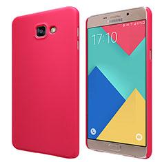 Samsung Galaxy A9 Pro (2016) SM-A9100用ハードケース プラスチック 質感もマット M06 サムスン レッド
