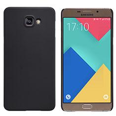 Samsung Galaxy A9 Pro (2016) SM-A9100用ハードケース プラスチック 質感もマット M06 サムスン ブラック