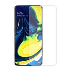 Samsung Galaxy A90 4G用強化ガラス 液晶保護フィルム サムスン クリア