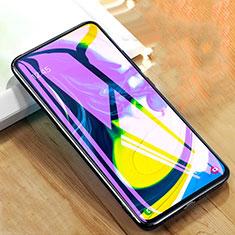 Samsung Galaxy A90 4G用アンチグレア ブルーライト 強化ガラス 液晶保護フィルム サムスン クリア