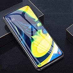 Samsung Galaxy A90 4G用強化ガラス 液晶保護フィルム T04 サムスン クリア