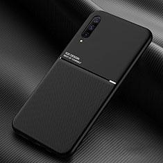 Samsung Galaxy A90 5G用360度 フルカバー極薄ソフトケース シリコンケース 耐衝撃 全面保護 バンパー C05 サムスン ブラック