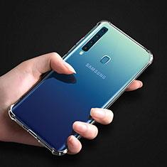 Samsung Galaxy A9s用極薄ソフトケース シリコンケース 耐衝撃 全面保護 クリア透明 T04 サムスン クリア