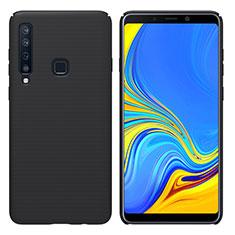 Samsung Galaxy A9s用ハードケース プラスチック 質感もマット M01 サムスン ブラック