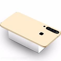 Samsung Galaxy A9s用ハードケース プラスチック 質感もマット M02 サムスン ゴールド