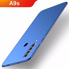 Samsung Galaxy A9s用ハードケース プラスチック 質感もマット M02 サムスン ネイビー