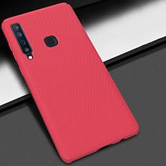 Samsung Galaxy A9s用ハードケース プラスチック 質感もマット M03 サムスン レッド