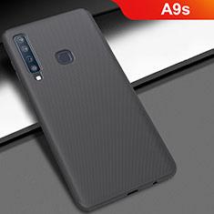 Samsung Galaxy A9s用ハードケース プラスチック 質感もマット M03 サムスン ブラック