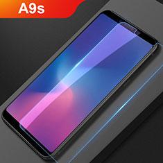 Samsung Galaxy A9s用アンチグレア ブルーライト 強化ガラス 液晶保護フィルム サムスン クリア