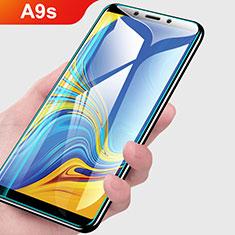 Samsung Galaxy A9s用強化ガラス 液晶保護フィルム T01 サムスン クリア