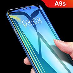 Samsung Galaxy A9s用強化ガラス 液晶保護フィルム T02 サムスン クリア
