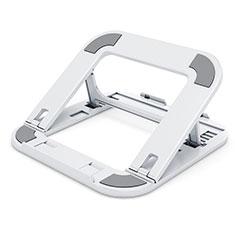 Samsung Galaxy Book Flex 13.3 NP930QCG用ノートブックホルダー ラップトップスタンド T02 サムスン ホワイト