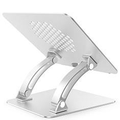 Samsung Galaxy Book Flex 13.3 NP930QCG用ノートブックホルダー ラップトップスタンド T09 サムスン シルバー