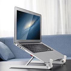 Samsung Galaxy Book Flex 15.6 NP950QCG用ノートブックホルダー ラップトップスタンド K13 サムスン シルバー