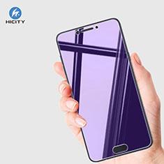 Samsung Galaxy C5 Pro C5010用アンチグレア ブルーライト 強化ガラス 液晶保護フィルム B01 サムスン ネイビー