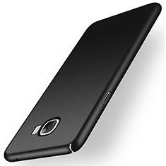 Samsung Galaxy C5 SM-C5000用ハードケース プラスチック 質感もマット M01 サムスン ブラック