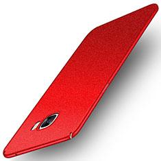 Samsung Galaxy C5 SM-C5000用ハードケース プラスチック カバー サムスン レッド