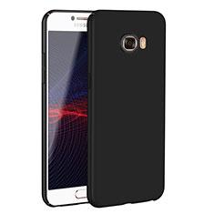 Samsung Galaxy C5 SM-C5000用ハードケース プラスチック 質感もマット M02 サムスン ブラック