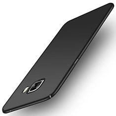 Samsung Galaxy C5 SM-C5000用ハードケース プラスチック 質感もマット M04 サムスン ブラック