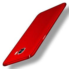 Samsung Galaxy C5 SM-C5000用ハードケース プラスチック 質感もマット M04 サムスン レッド