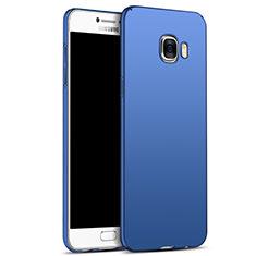 Samsung Galaxy C5 SM-C5000用ハードケース プラスチック 質感もマット M05 サムスン ネイビー