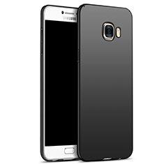 Samsung Galaxy C5 SM-C5000用ハードケース プラスチック 質感もマット M05 サムスン ブラック