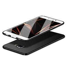 Samsung Galaxy C5 SM-C5000用ハードケース プラスチック 質感もマット M06 サムスン ブラック
