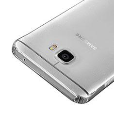 Samsung Galaxy C5 SM-C5000用極薄ソフトケース シリコンケース 耐衝撃 全面保護 クリア透明 サムスン クリア